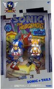 Tomy Sonic 25th Anniversary figure Comic 2 Pack Sonic and Tails