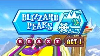 ᴴᴰ DesMuMe - Sonic Rush Adventure Blizzard Peaks, Blaze - Act 1 【1080 60FPS】
