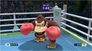 Mario & Sonic at the Rio 2016 Olympic Games - Donkey Kong Boxing