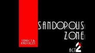 S&K StH3&K Music Sandopolis Zone Act 2