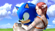 Sonic 2006 sonic y elise