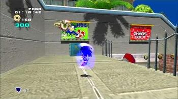Sonic Adventure 2 (PS3) City Escape Mission 1 A Rank