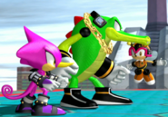 Sonic Gems Collection Heroes Chaotix 2