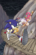 Sonic and the Secret Rings by Yardley
