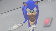 Sonic explaining