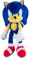 Tomy Collector Series Modern plush Sonic variant