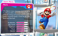 London Stats Mario