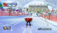 Mario Sonic Olympic Winter Games Gameplay 034