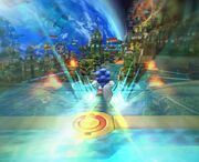 Sonic Colors - Sonic Boost