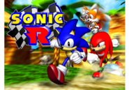 Sonic R title art