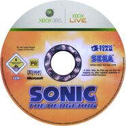 Sonic The Hedgehog (2006) - Disc - European - (1)