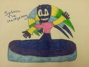 Spalsh The Hedgehog
