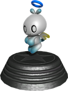 Generations statue Hero Chao
