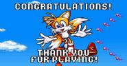 Sonic Advance ending Tails