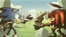 Gawain vs Sonic