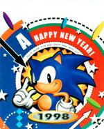 Happy New Year 1998 Sonic