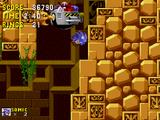 Boss poziomu Labyrinth Zone