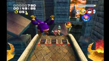 Sonic Heroes Hang Castle (Team Rose)