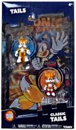 Tomy Collector Series Tails figure comic pack