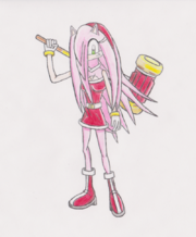 YoshiWii1's Amy Rose