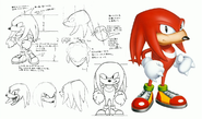 Knuckles-the-Echidna-Character-Sketches