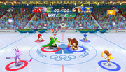 Mario Sonic Olympic Winter Games Gameplay 109