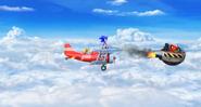 Sky Fortress Zone Act 1 screenshot