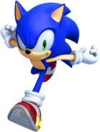 Sonic Unleashed Sonic run