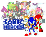 Sonicheroes grouping all