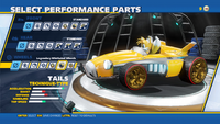 Tails Legendary Whirlwind Wheel Wheels