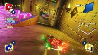 Team Sonic Racing Boo's House (Knuckles) 1080 HD