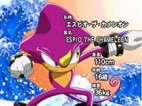 Espio the Chameleon (Sonic X)
