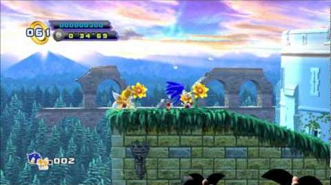 Sonic 4 Episode 2 - Sylvania Castle Act 1