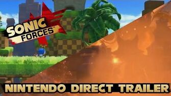 Sonic Forces - Nintendo Direct Trailer Classic Sonic Gameplay & New Character Teaser