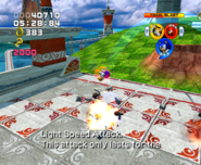 Sonic Heroes - Light Speed Attack