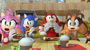 Team Sonic shocked