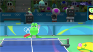 Mario & Sonic at the Rio 2016 Olympic Games - Yoshi Table Tennis