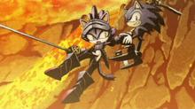 Percival vs Sonic