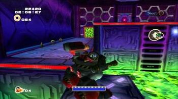 Sonic Adventure 2 (PS3) Cannon's Core Mission 1 A Rank