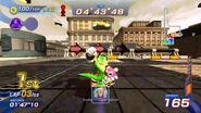 Sonic Free Riders - Vector Metropolis Speedway