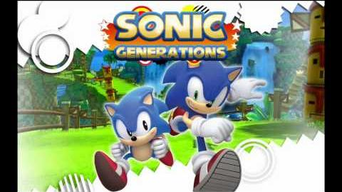 "Sonic Generations ""Time Break Cyber Track "" Music"