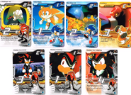 Sonic X tcg Starter exclusives