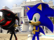 Sonic and Shadow photo
