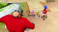 Team Sonic deceived by Eggman