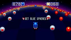 Blue Sphere Sonic Mania
