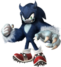 SU Sonic the Werehog