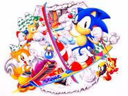 Sonic Screen Saver 35