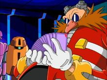 Eggman i karty Sonic X