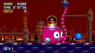 Sonic Mania Boss 19 - Big Octus