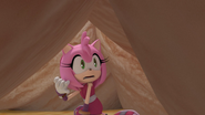Amy trapped